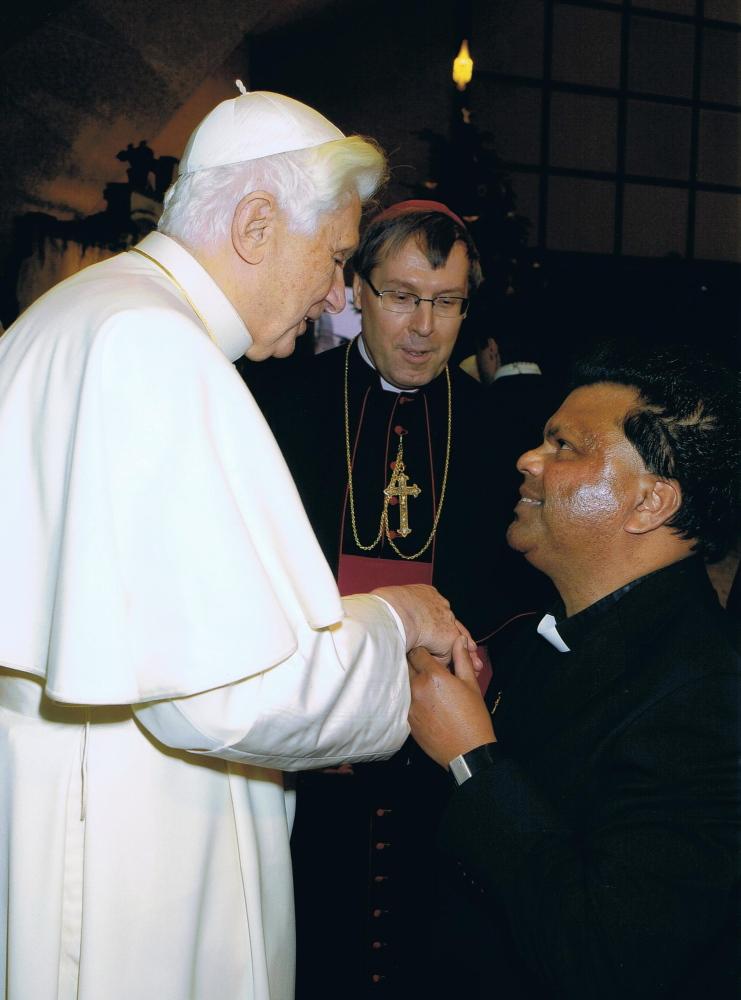 audiens hos paven